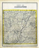 Alexander, Genesee County 1876